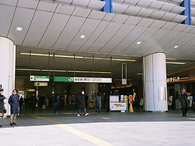 赤羽駅東口前