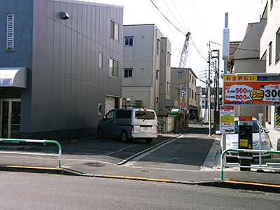 翔卓T.T.C路地入口